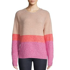 Colorblock Knit Sweater Vero Moda
